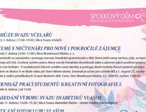 Program na duben 2018