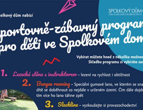Sportovně zábavný program pro děti