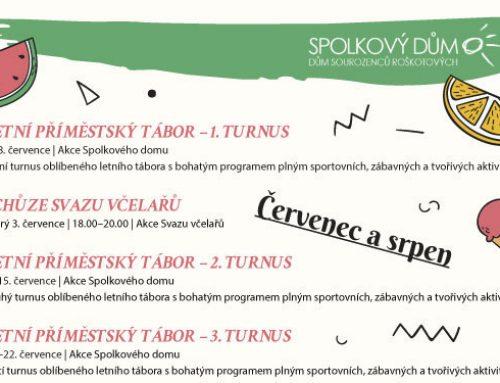 Program na léto 2018