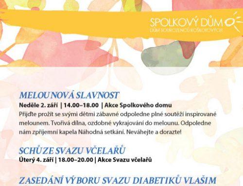 Program na září 2018