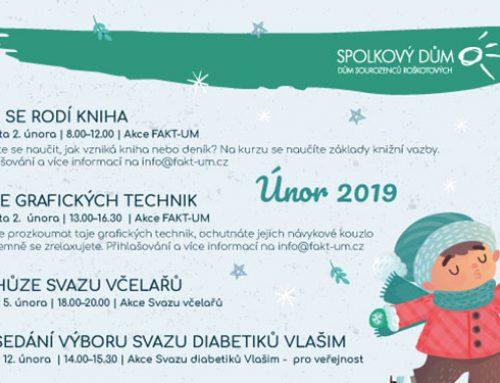 Program na únor 2019