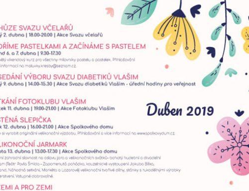 Program na duben 2019