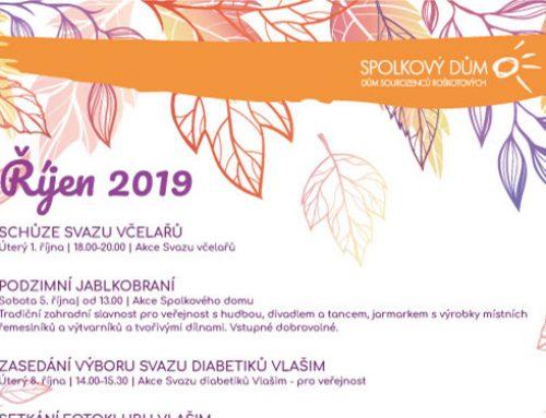 Program na říjen 2019