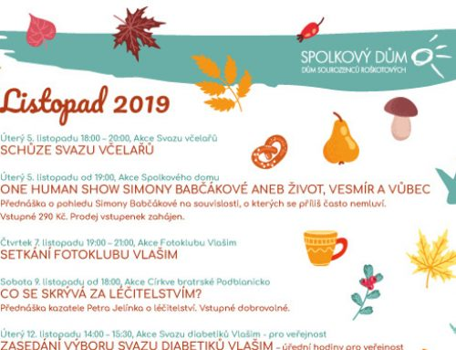 Program na listopad 2019