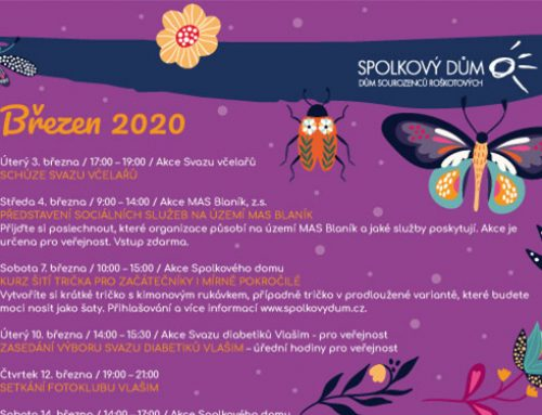 Program na březen 2020