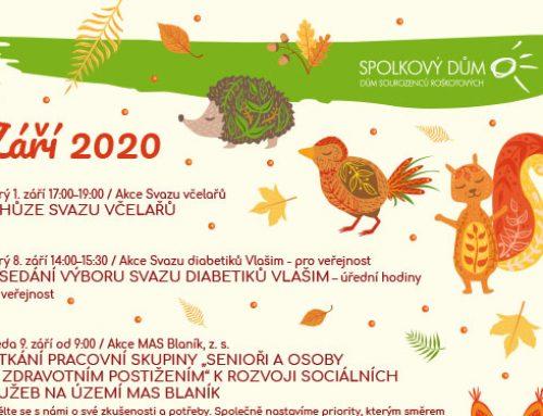 Program na září 2020